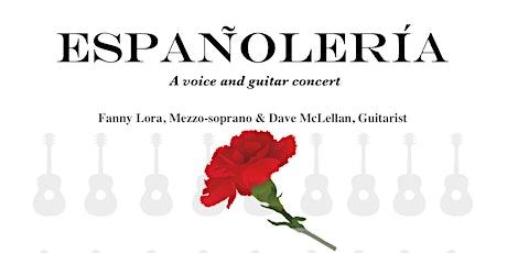 Españolería - voice and guitar concert tickets