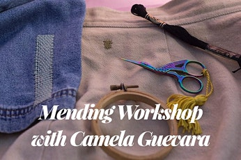 Happy Hour Mending Workshop with Camela Guevara tickets