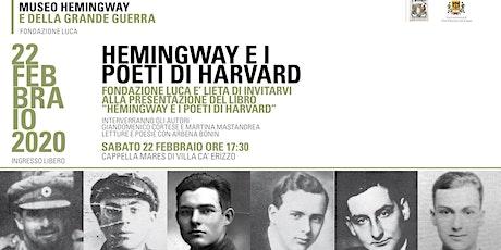 Hemingway e i poeti di Harvard tickets