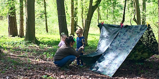 Baby Bushcraft: SPRING FINESHADE WOOD