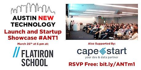 Austin New Technology Launch & Startup Showcase #ANT1 tickets