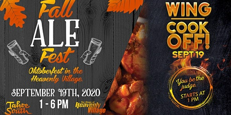Fall Ale Fest & Wing Cookoff tickets