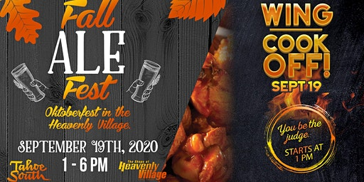 Fall Ale Fest & Wing Cookoff