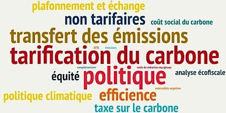 Le coût social du carbone billets