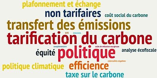 Le coût social du carbone