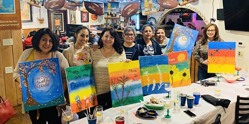 Margs & Painting at Chiquita's!