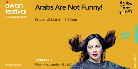 Arabs Are Not Funny! AWAN festival tickets
