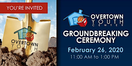Overtown Youth Center Groundbreaking Ceremony tickets
