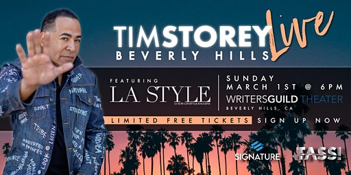 Tim Storey LIVE • Beverly Hills, CA