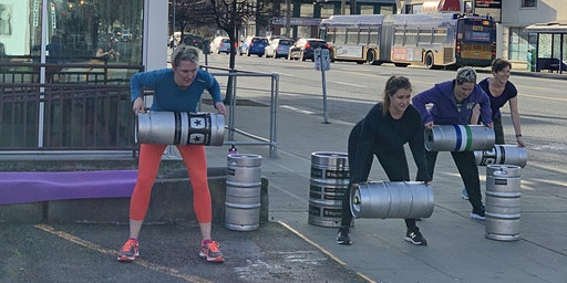 Kegs with Legs + A Pint - May