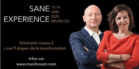 Séminaire SANE Expérience niveau 2 à Bruxelles, animé par Miriam Rabih et Laurent Picard billets