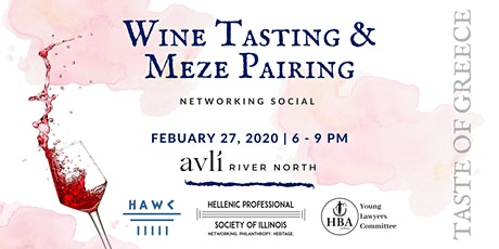 Wine Tasting & Meze Pairing: Networking Social tickets