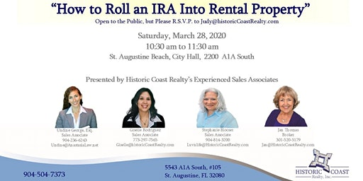 Free 'Diversify' Seminar: Learn how to Roll  an IRA into Rental Property