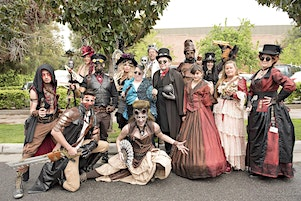 """Steampunk Fashion Show  """"It's  about Time!"""""""
