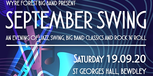 September Swing - an evening of jazz, swing and  big band classics