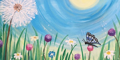 Paint Party Event 'Blooming Beautiful' at The Falcon, Whittlesey
