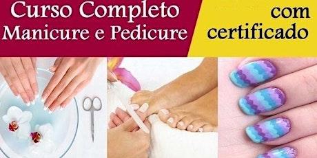Curso de manicure RJ Rio de Janeiro ingressos