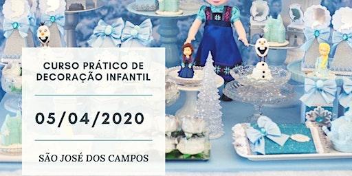 Curso Decoração Infantil São José dos Campos