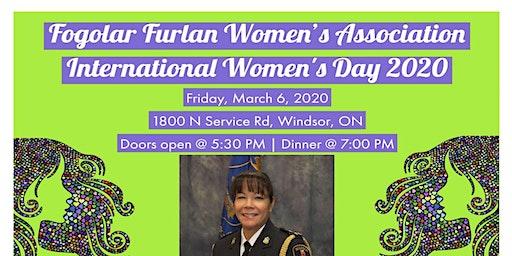 Fogolar Furlan Women's Association International Women's Day 2020