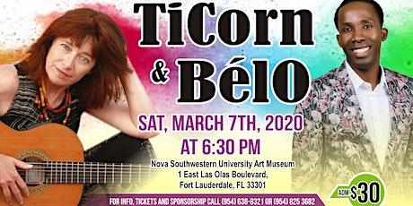 TiCorn and Belo sing Haiti tickets
