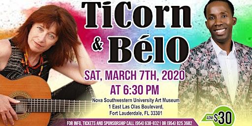 TiCorn and Belo sing Haiti