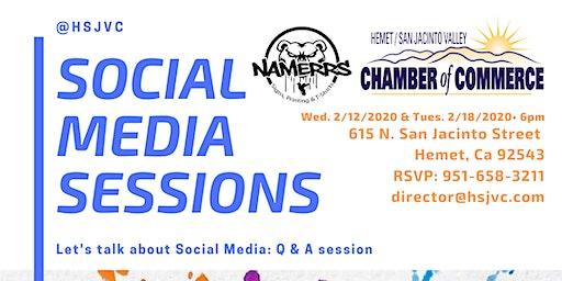 REVISED: Social Media Sessions: Q & A