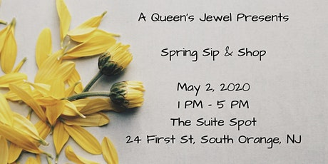 A Queen's Jewel presents Sip & Shop tickets