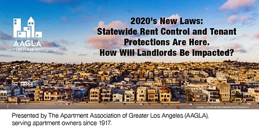 New Laws Affecting Landlords: Statewide Rent Control, AB 1482