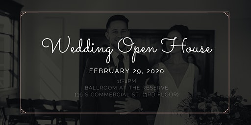 Wedding Open House : Ballroom at The Reserve