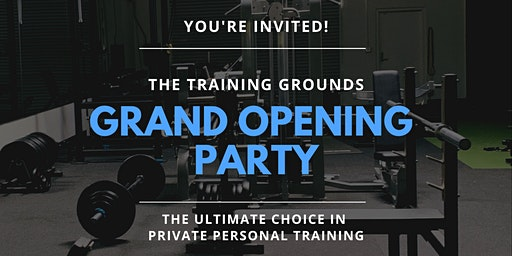The Training Grounds Grand Opening Party