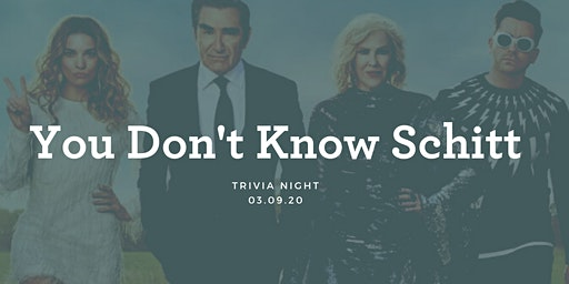 Schitt's Creek Trivia Night