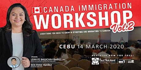 Canada Immigration Workshop - CEBU tickets