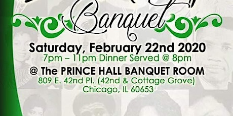 Temple of Mercy Association's 30th Annual Black Heritage Banquet tickets
