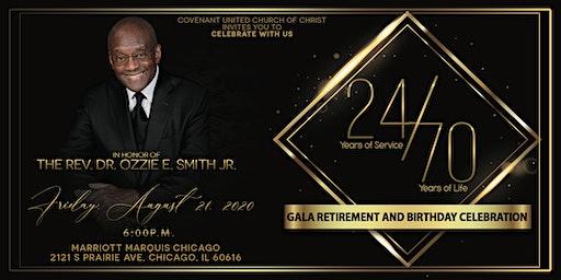 Gala Celebration Honoring The Rev. Dr. Ozzie E. Smith Jr.