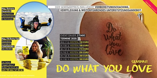 Do What You Love Seminar - Salzburg