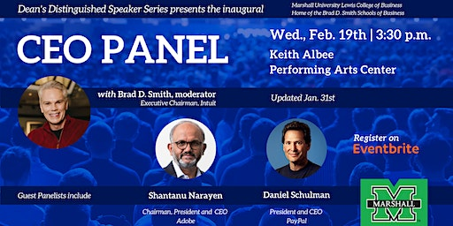 CEO Panel moderated by Brad D. Smith, Executive Chairman, Intuit