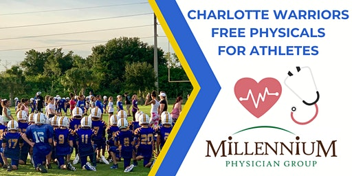 Charlotte Warriors FREE Physicals for Athletes