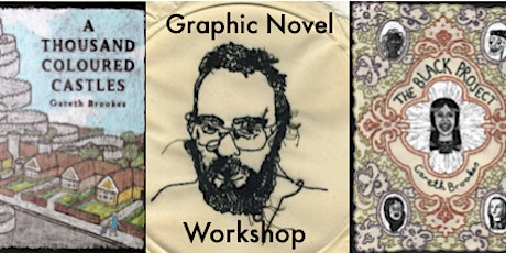Graphic Novel Workshop with Gareth Brookes tickets