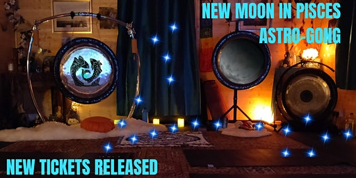New Moon Astro-Gong Bath 5pm