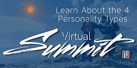 Virtual Summit - 4 PERSONALITY TYPES (Every 3rd Tuesday of the Month) tickets