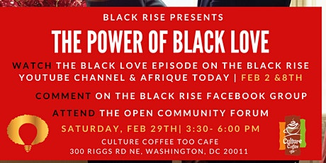 The Power Of Black Love tickets