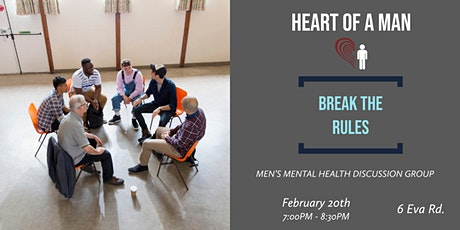 Heart Of A Man | Break The Rules (Let's Open Up) tickets