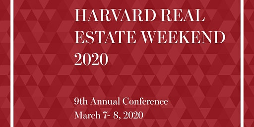 Harvard Real Estate Weekend 2020
