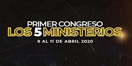 LOS 5 MINISTERIOS entradas