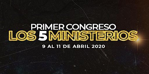 LOS 5 MINISTERIOS