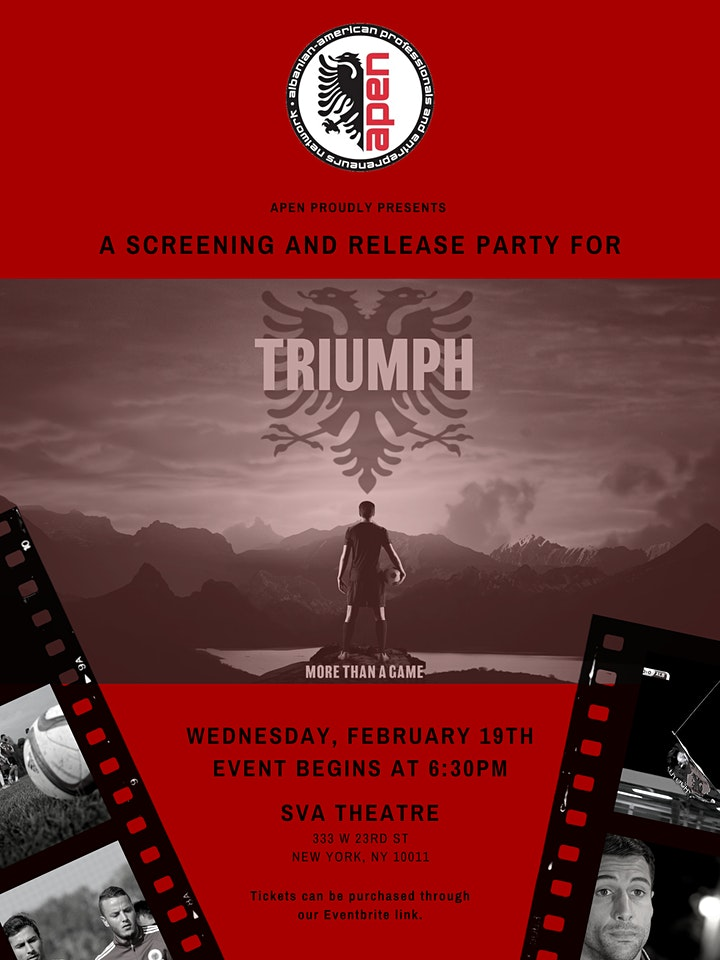 APEN: Screening and Release Party for Triumph image