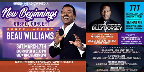 New Beginnings Gospel Concert tickets