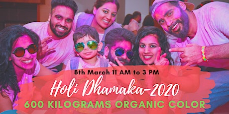 Holi Dhamaka-2020 tickets