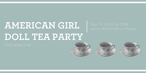 American Doll Tea Party for Mom & Me
