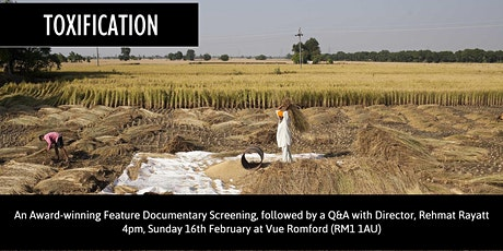 TOXIFICATION (12A), followed by a Q&A with Director tickets